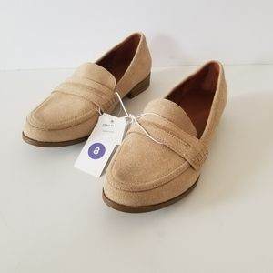Universal thread Tan loafers size 8